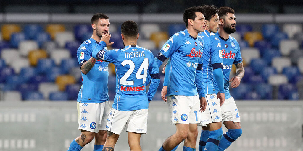 Napoli-Spezia 4-2, cronaca e tabellino (Getty Images)