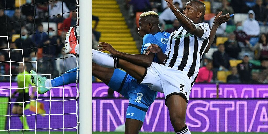 Udinese Calcio and SSC Napoli at Dacia Arena on September 20, 2021 (getty)