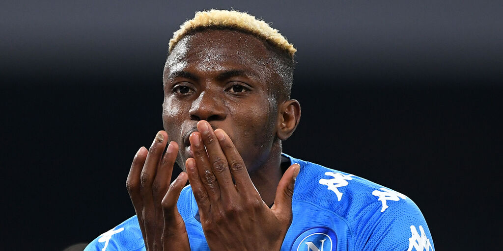 Osimhen, gol e assist in Nazionale (Getty Images)