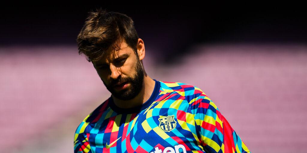 """Barcellona, Piquè alza bandiera bianca: """"Difficile vincere il titolo"""" (Getty Images)"""