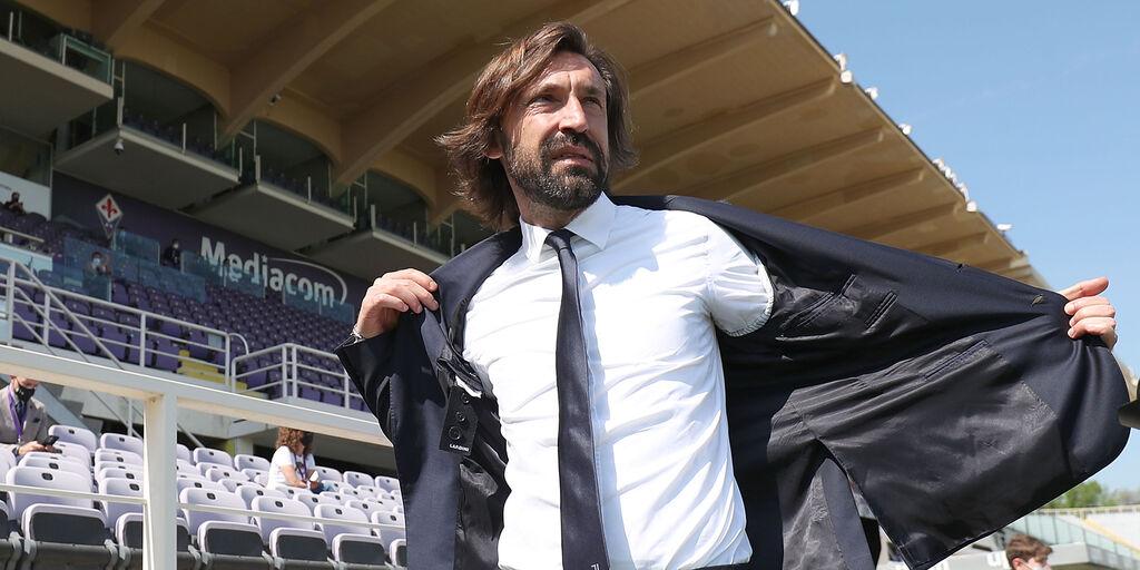 Il tecnico Pirlo della Juve (getty)