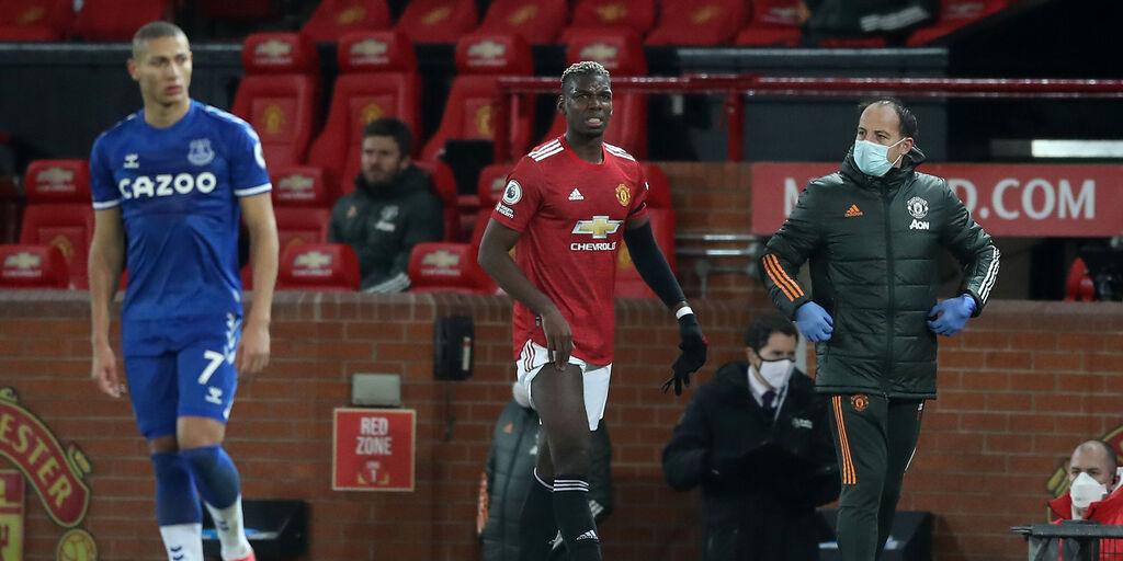 Manchester United, infortunio alla coscia per Paul Pogba (Getty Images)