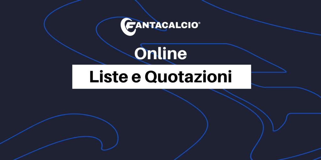 Fantacalcio 2021-2022: liste, ruoli e quotazioni Classic e Mantra