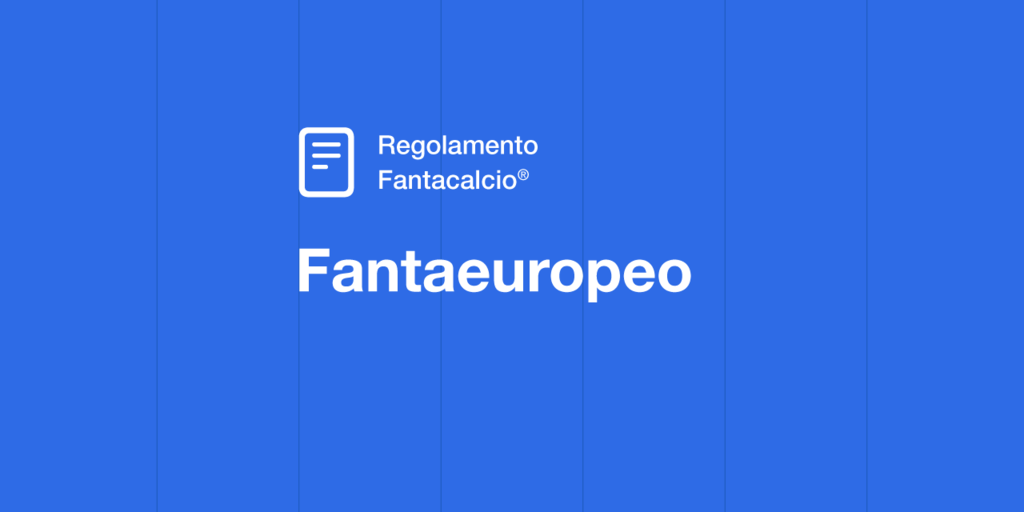 Regolamento Fantaeuropeo