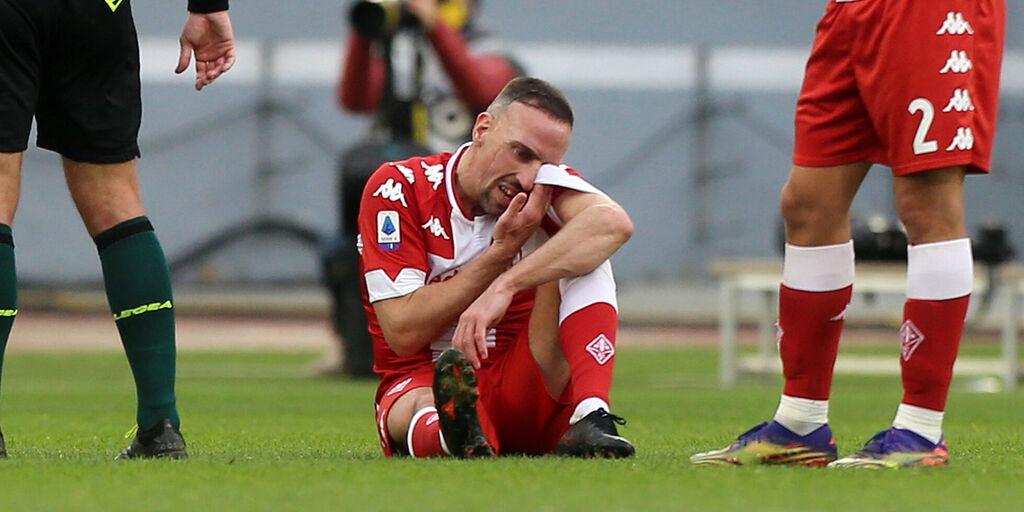 Fiorentina, Ribery ancora fermo: è a rischio per la Samp (Getty Images)