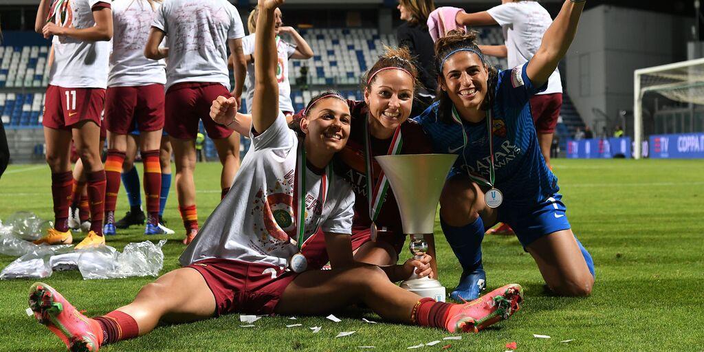 VIDEO - Alla Roma la Coppa Italia Femminile: Milan ko ai rigori (Getty Images)