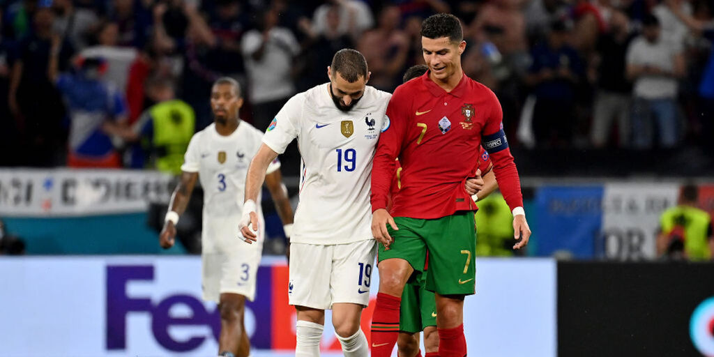 Cristiano Ronaldo da record: raggiunto Ali Daei (Getty Images)