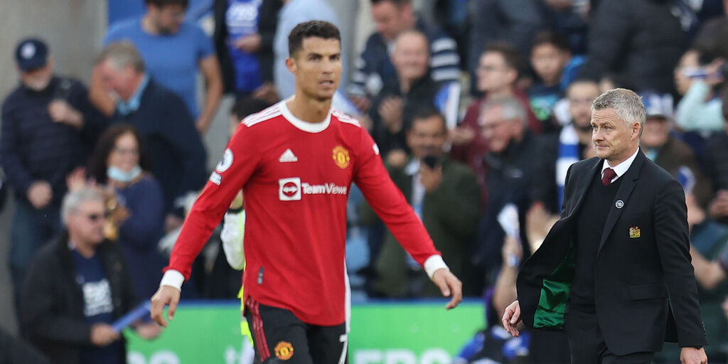 Manchester United, flop Ronaldo col Leicester! Solskjaer adesso rischia (Getty Images)