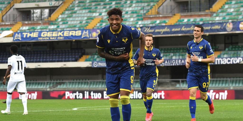 """Verona, così Salcedo dopo il gol con lo Spezia: """"Spero di continuare"""" (Getty Images)"""