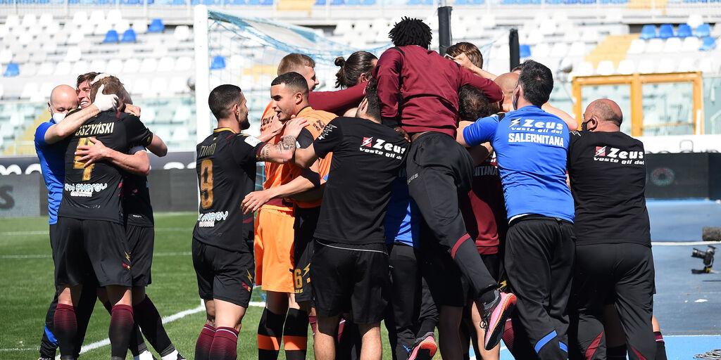 Serie B, i verdetti dell'ultima giornata: Salernitana in Serie A (Getty Images)