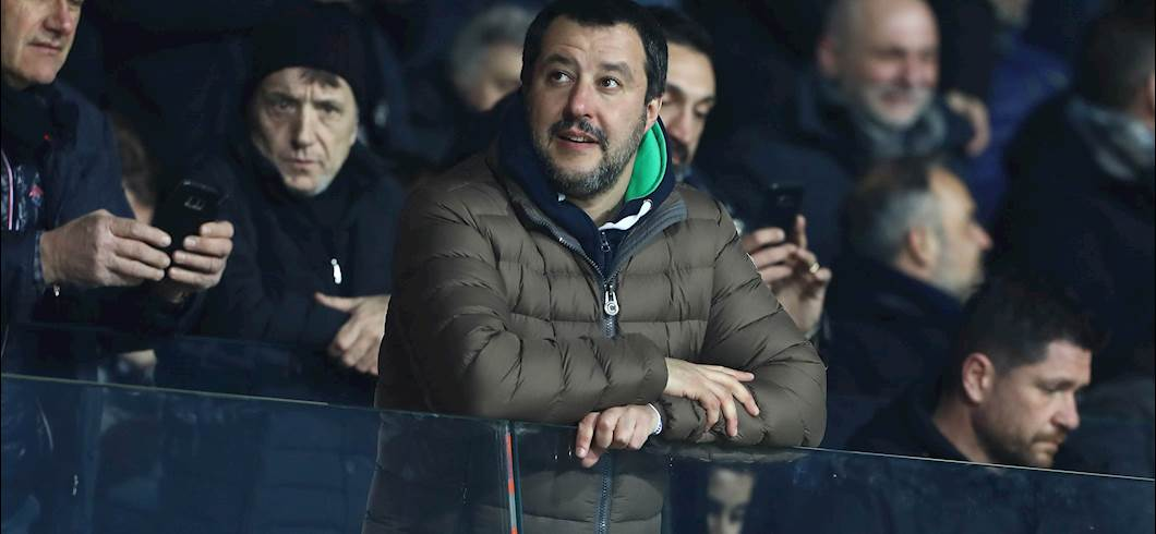 "Superlega, Salvini: ""Ha vinto la gente ma la UEFA spreca"" (Getty Images)"