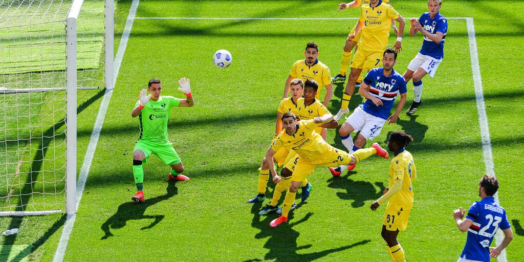 Sampdoria-Verona 3-1: gol e highlights (Getty Images)