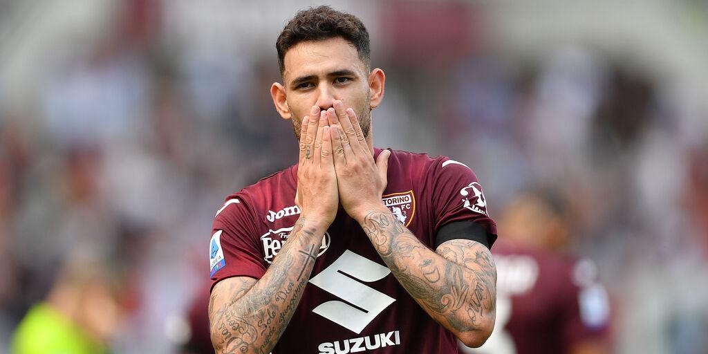 L\'esultanza di Sanabria dopo il gol del vantaggio (Getty Images)
