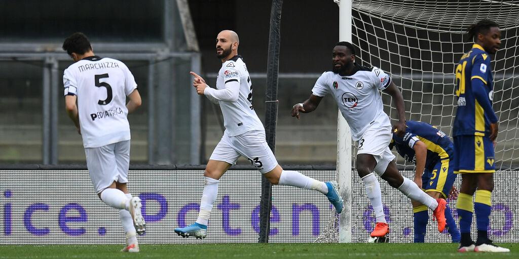 Verona-Spezia 1-1, gol e highlights (Getty Images)