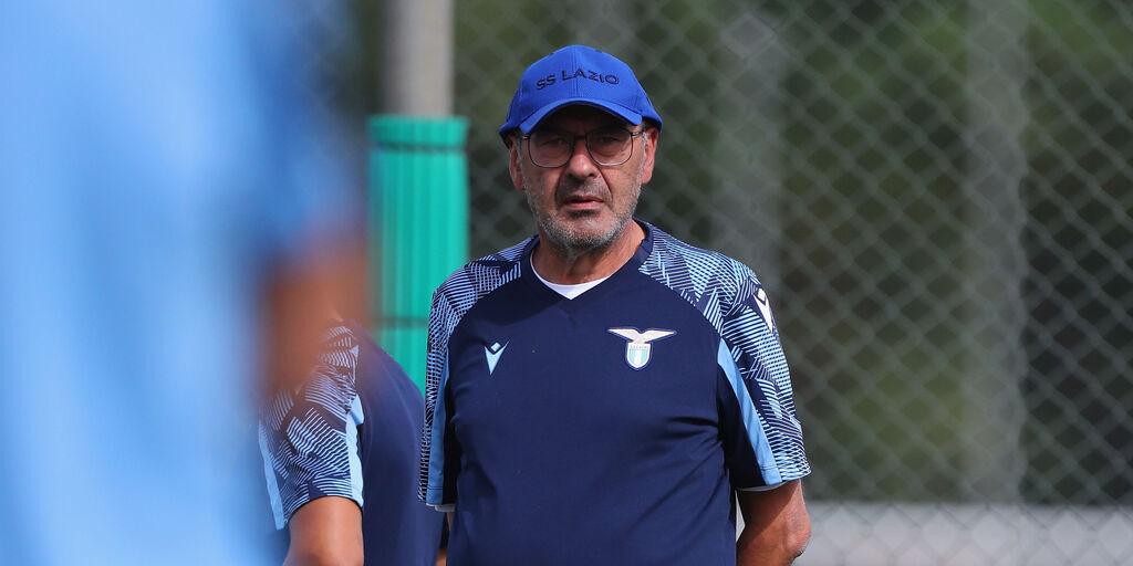 Lazio-Roma, la conferenza stampa di Maurizio Sarri (Getty Images)