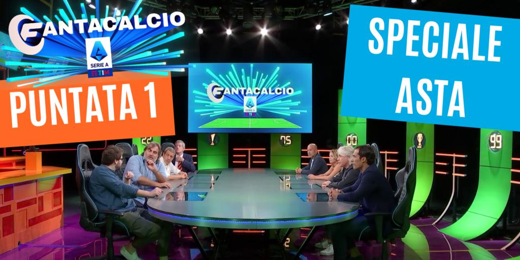 Fantacalcio Serie A TIM, 1a puntata: rivedila in esclusiva sul canale Youtube di Fantacalcio