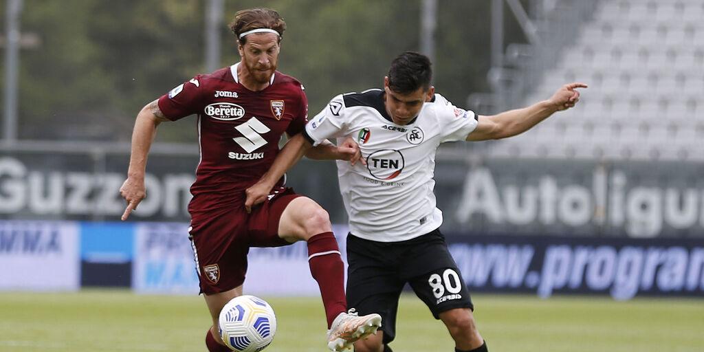 Spezia-Torino 4-1, gol e highlights (Getty Images)