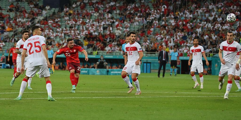 Svizzera-Turchia 3-1: cronaca, tabellino e voti per il Fantacalcio (Getty Images)