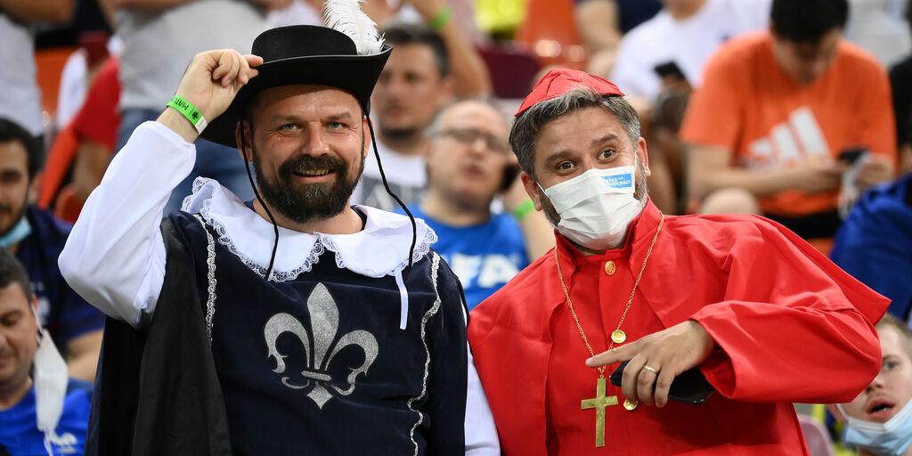 Francia - Svizzera, dalla disperazione alla gioia (e viceversa). Le immagini dei tifosi  (Getty Images)
