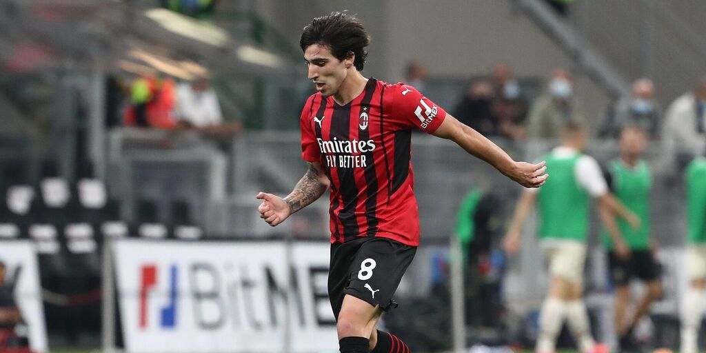 """Milan, Tonali: """"La Champions mi sta dando esperienza"""" (Getty Images)"""