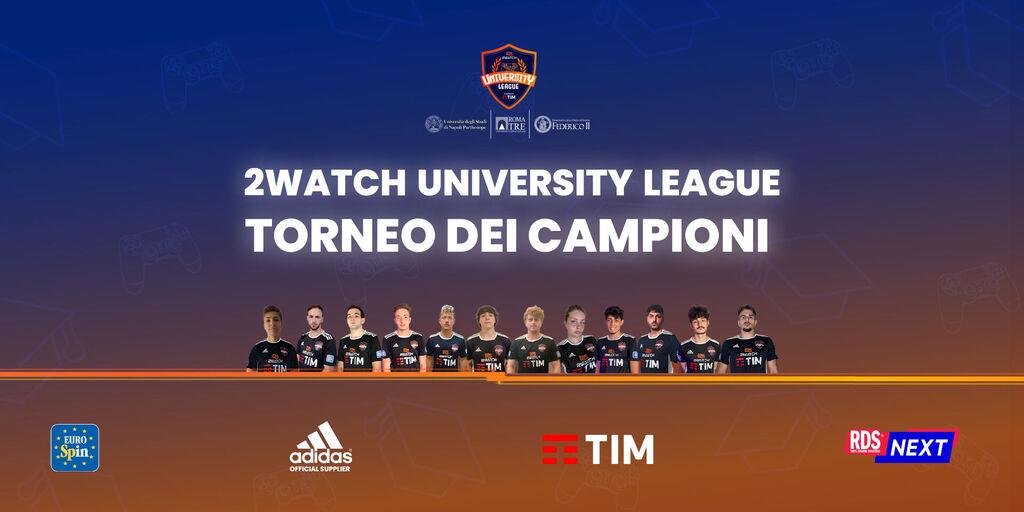 2Watch University League: domani la finale di FIFA21! Ecco dove e come vederla