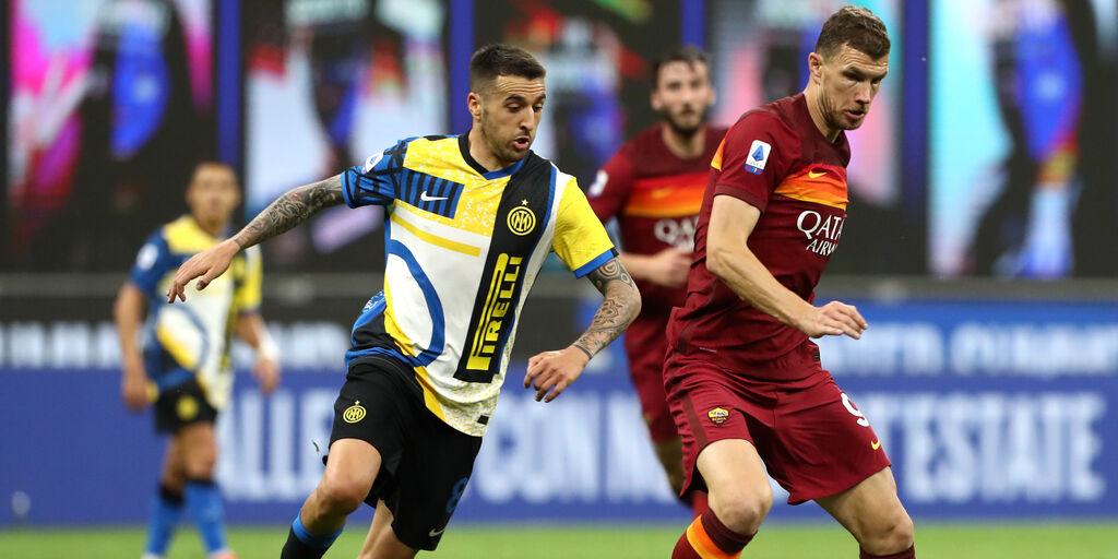 Inter, Vecino chiede la cessione? Potrebbe restare ugualmente in Serie A (Getty Images)