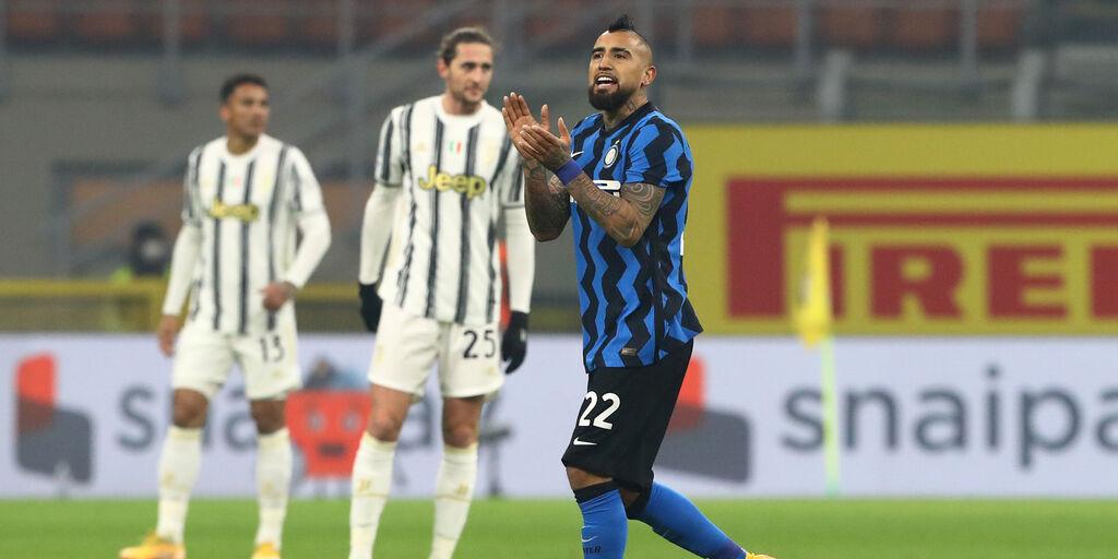 """Vidal polemico: """"Esce sempre il 22"""". In panchina contro la Fiorentina?  (Getty Images)"""