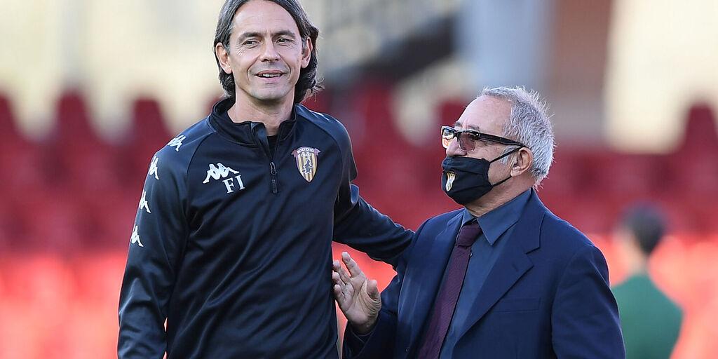 """Benevento, Vigorito: """"Inzaghi? Dobbiamo capire cosa non funziona"""" (Getty Images)"""