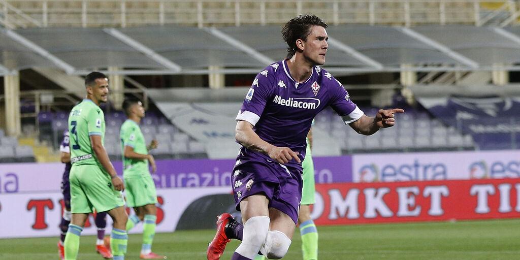 """Fiorentina, Vlahovic: """"Sappiamo bene quanto valiamo"""" (Getty Images)"""