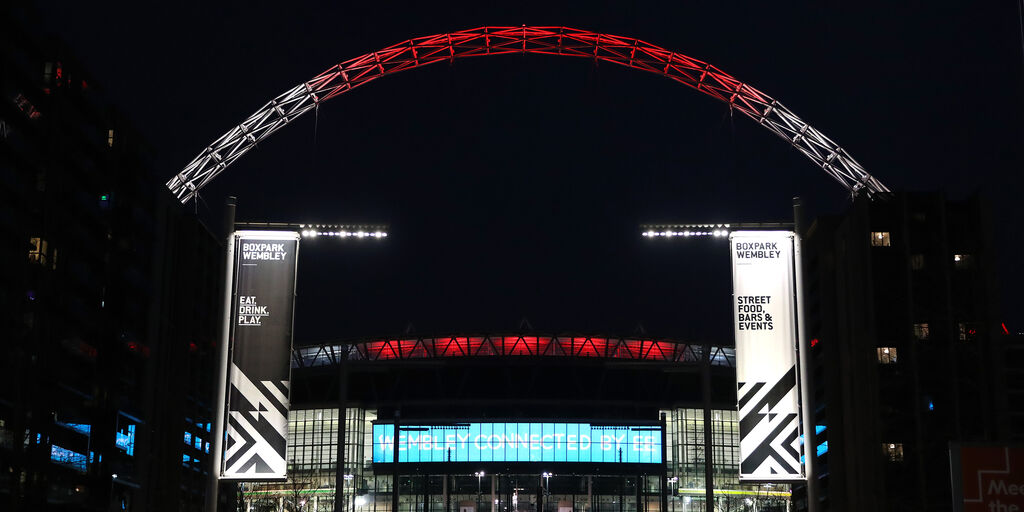 "Euro 2020, Uefa: ""Sede finale? Si resta a Wembley"" (Getty Images)"