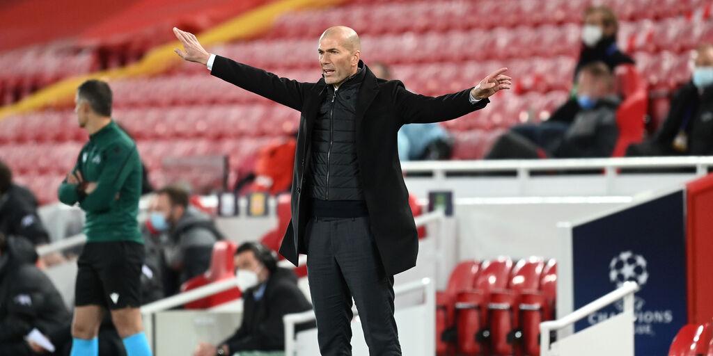 """Zidane in conferenza: """"Non conta se sarò qui l'anno prossimo"""" (Getty Images)"""