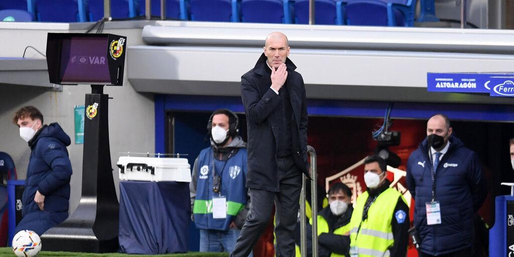 """Real Madrid, Zidane: """"Siamo tutti sulla stessa barca"""" (Getty Images)"""