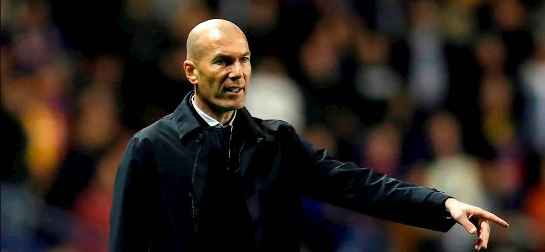 """Real Madrid, Zidane: """"Davanti a noi bisogna togliersi il cappello"""" (Getty Images)"""